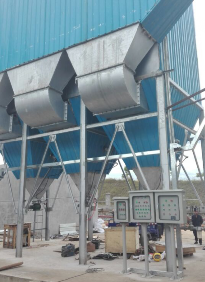 Fujian a group of boiler exhaust dust control automation project